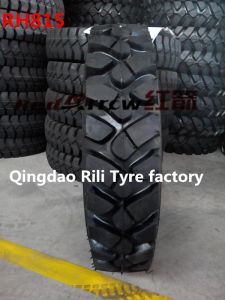 Wheeled Small Excavator Tyre (650-16 500-12 950-20) with Cross Country Tread pictures & photos