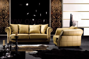 Europe Style Modern Leather Sofa