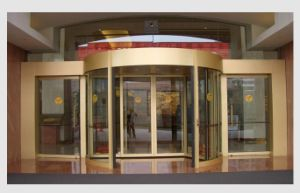 Round Automatic Curved Sliding Door, Hotel Auto Sliding Glass Door pictures & photos