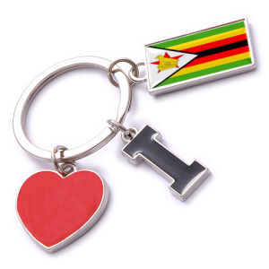 New Custom Metal Souvenir Zimbabwe Keyring pictures & photos