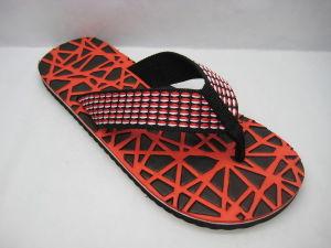 8124e0744621 China Wide Strap EVA PVC Flip Flops Comfortable Summer Slippers ...