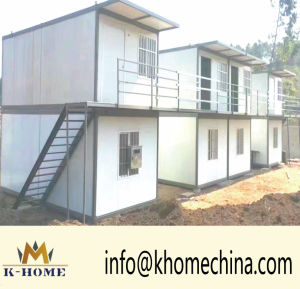 Ten Minutes Installation Time Folding Container House Urgentlly Need People pictures & photos