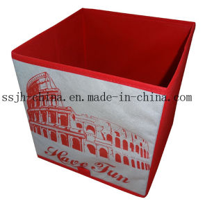 Rome Style Foldable Storage Box Without Cover (TN-SBK 162)