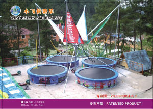 Xfx Fashion Round Bungee Trampoline (LG001) pictures & photos