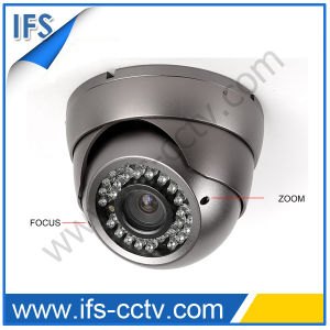 Vari-Focal Vandalproof Security Dome Camera (IDC-312)