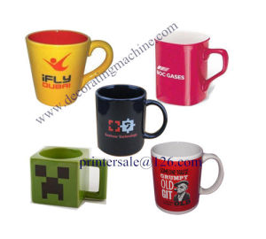 Cup Mug Screen Printing Machine/Screen Printer pictures & photos