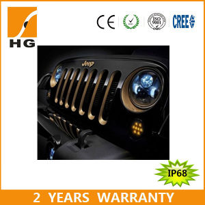 CREE 7 Inch LED Headlight with CCC, E-MARK for Jeep (HG-838A)