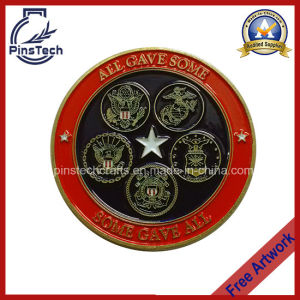 Military Collectible Coin, Free Artwork Design for Customized and Replica Coins