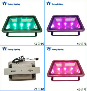 High Power 200W LED Flood Light with RGB Remote Controller pictures & photos