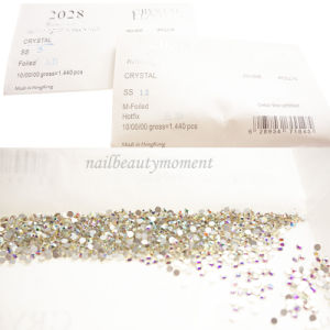 Crystal Nail Art Gems Beauty Rhinestone 1440 PCS/Bag (D63)