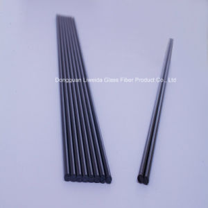 High Strength Carbon Fiber Rod/Bar, Carbon Pultruded Rod with Insulation