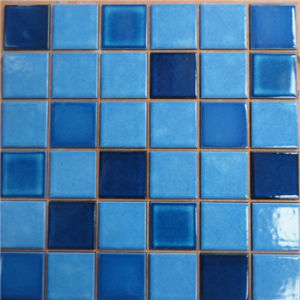 China Hot Sale Ceramic Swimming Pool Cheap Mosaic Wall Tiles China - Ceramic tiles mosaics for sale