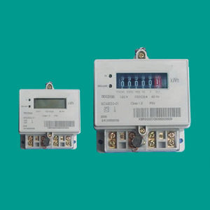 Dds2800 Single-Phase Electricity Meter pictures & photos