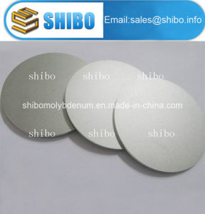 99.95% Pure Polished Molybdenum Discs pictures & photos