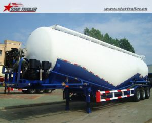 New 60cbm Dry Powder Transport Tank Trailer pictures & photos