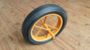 Sr2701 Solid Wheelbarrow Rubber Wheel 14X3.5