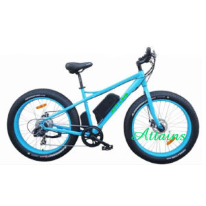 26 Inch Big Type Mountain Electric Bicycle with Suspension Fork pictures & photos