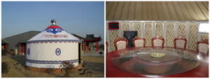 Luxury Aluminum Alloy Yurts