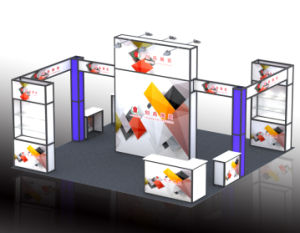 6*6m Customized Shell Scheme Exhibition Booth