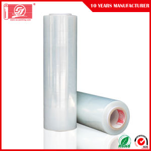"Clear Plastic Wrap Stretch Film 18"" Clear Wrap PE Film 15 Micron LLDPE Packing Film Wrap pictures & photos"