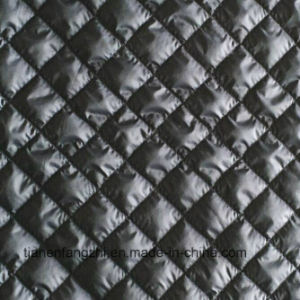100% Polyester Winter Jacket Quilted Fabric pictures & photos