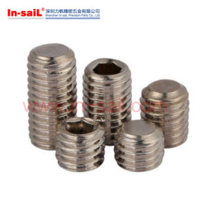 Plunger Tube Retainer Screw/Hexagon Socket Set Screw pictures & photos