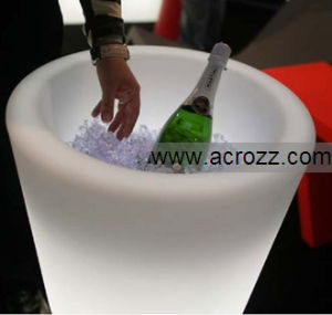Party Bar Furniture Ice Bucket Ice Pot LED Cooler Pot pictures & photos