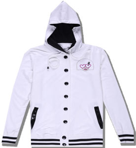 Stylish Wholesale Hooded Sweatshirt with Embroidery Design pictures & photos