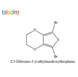 Chemical Reagent Bloom Tech 2, 5-Dibromo-3, 4-Ethylenedioxythiophene CAS 174508-31-7