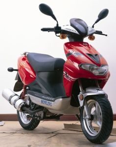 Gas Scooter (HL125T-12)