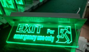 LED Emergency Exit Sign Lamp (QH2654)