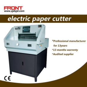 Electrical Paper Cutter 520 mm Size (E520T) Program Control pictures & photos