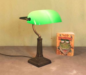 Tiffany Banker Lamps pictures & photos