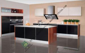 New Fashionable High Gloss UV Kitchen Furniture (zs-161)