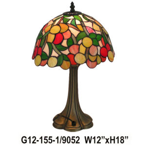 Tiffany Table Lamp (G12-155-1-9052)