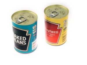 Easy Open Lid Tin Cans Food Grade Metal Cans pictures & photos