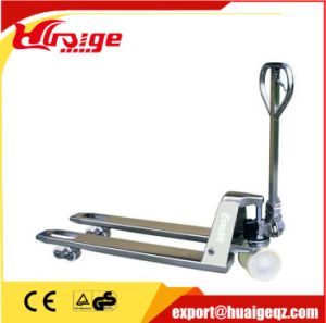 Stainless Steel SUS316 Hand Pallet Jack for Corrosion Resistant Application