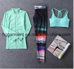 Quickly Dry Sports Suit for Women/Lady, Gym Wear, Running Wear