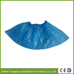 Disposable Plastic PE Shoe Cover pictures & photos