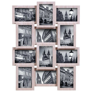 Multi Openning Home Decoration Photo Collage Plastic Frame