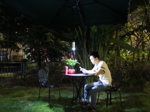 Solar Umbrella Light and Charger Set for All Existing Umbrellas