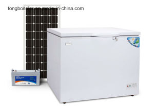 DC 12V 24V Solar Freezer Commercial Chest Freezer 190L pictures & photos