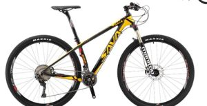 MTB Carbon Frame 29er Mountain Bike with Front Suspension