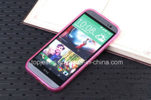 HTC One M8 High Clear TPU Soft Case
