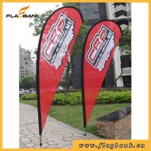 Aluminium Beach Flag Exhibition Digital Printing Feather Flag pictures & photos