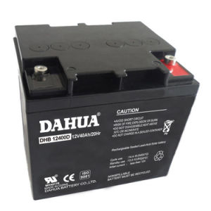 Hot Sale 12V 40ah Deep Cycle Solar Battery for Solar Systems pictures & photos