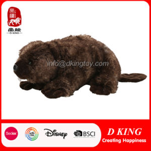New Design Kids Toy Stuffed Castor Fiber Toy