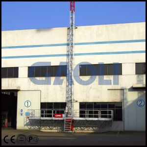 ISO Approved Mast Climbing Work Platform pictures & photos
