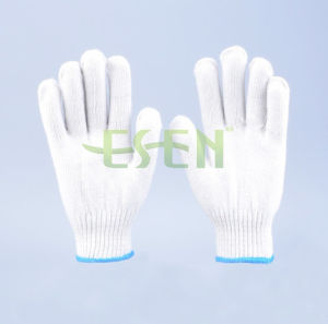 Industrial Used Safety Equipment White Cotton Gloves (K10-B1-5) pictures & photos