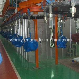 Complete Painting Line Spraying Machine for Steering